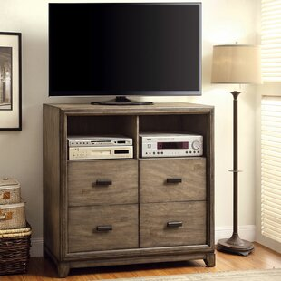 Munson 4 Drawer Media Chest