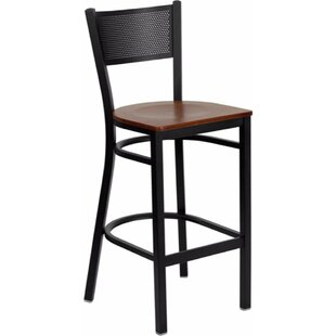 Dryden 28.5 Bar Stool Red Barrel Studio