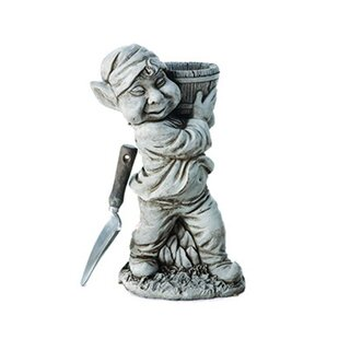 Attleborough Barrel Stone Garden Statue Image