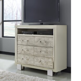 Rosdorf Park Redick 6 Drawer Media Chest