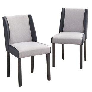 George Oliver Beckley Upholstered Dining Chair (Set of 2)