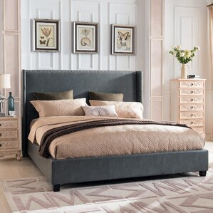 Hagins Upholstered Panel Bed by Darby Home Co