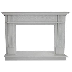 White Gas Fireplace Surround Wayfair