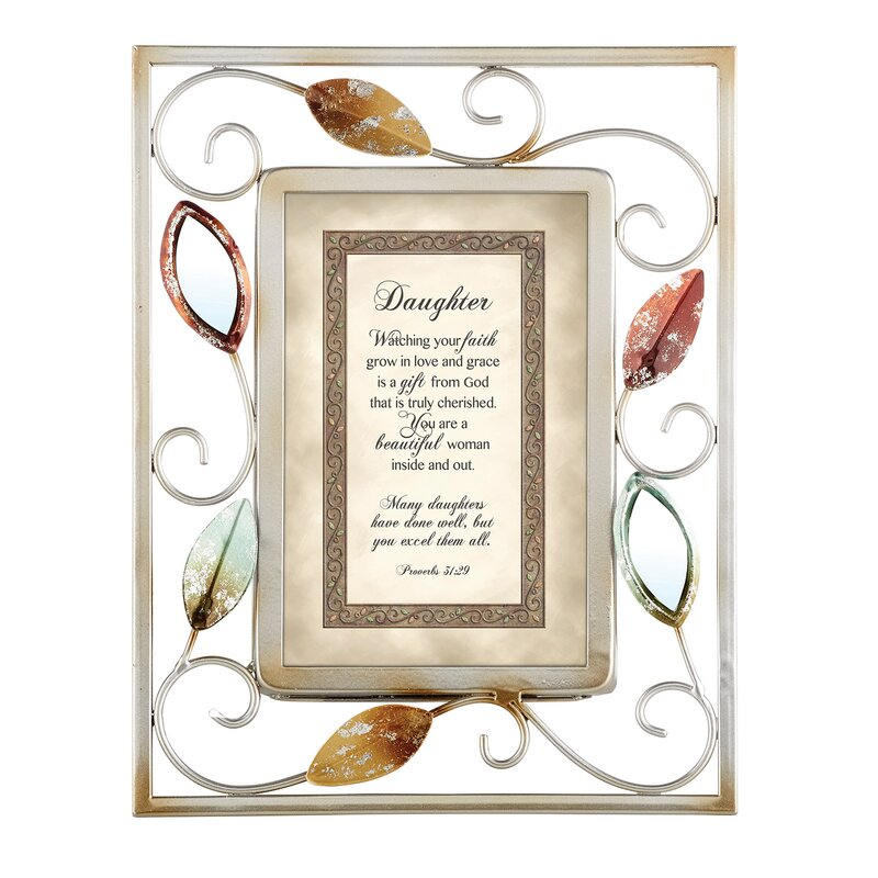 CBGT Daughter Proverbs Picture Frame   Wayfair