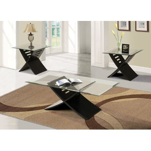 Canotib 3 Piece Coffee Table Set