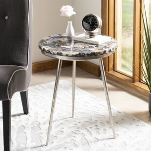 Cribbs Round End Table by Mercer41