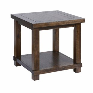 Edina End Table by Alcott Hill
