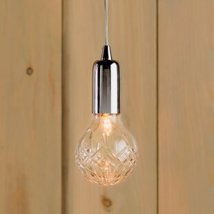 Choe 1-Light Halogen Bulb Pendant by House of Hampton