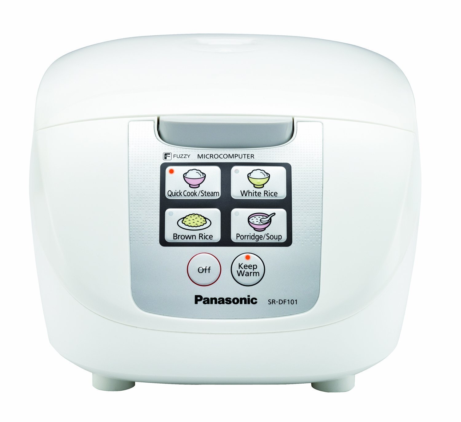 Panasonic 5-Cup Microcomputer Controlled Fuzzy Logic Rice Cooker ...