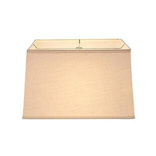 16 Linen Rectangular Lamp Shade