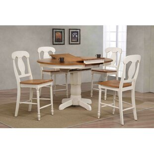 Napoleon Counter Height 5 Piece Pub Table Set