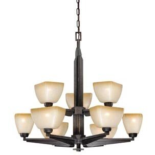 Aanya 9-Light Shaded Chandelier by Millwood Pines