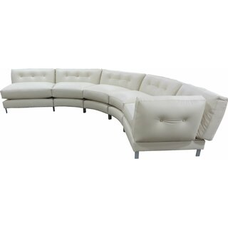 5 Piece Curved Symmetrical Modular Sectional by TLS by Design Custom Furniture SKU:CE492099 Purchase