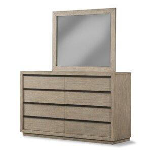 Loon Peak Crannell 8 Drawer Double Dresser
