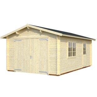Lockwood 3.8m X 5.5m Garage By Sol 72 Outdoor