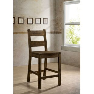 Rayburn Rustic Solid Wood Dining Chair (Set of 2)