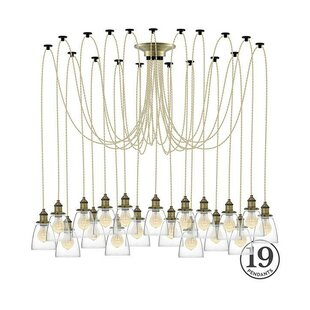 Ian 19-Light Cluster Pendant b..