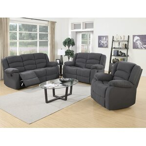 Mayflower 3 Piece Living Room Set  sc 1 st  Wayfair & Reclining Living Room Sets Youu0027ll Love islam-shia.org
