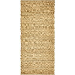 Petersen Hand-Woven Natural Area Rug by Gracie Oaks