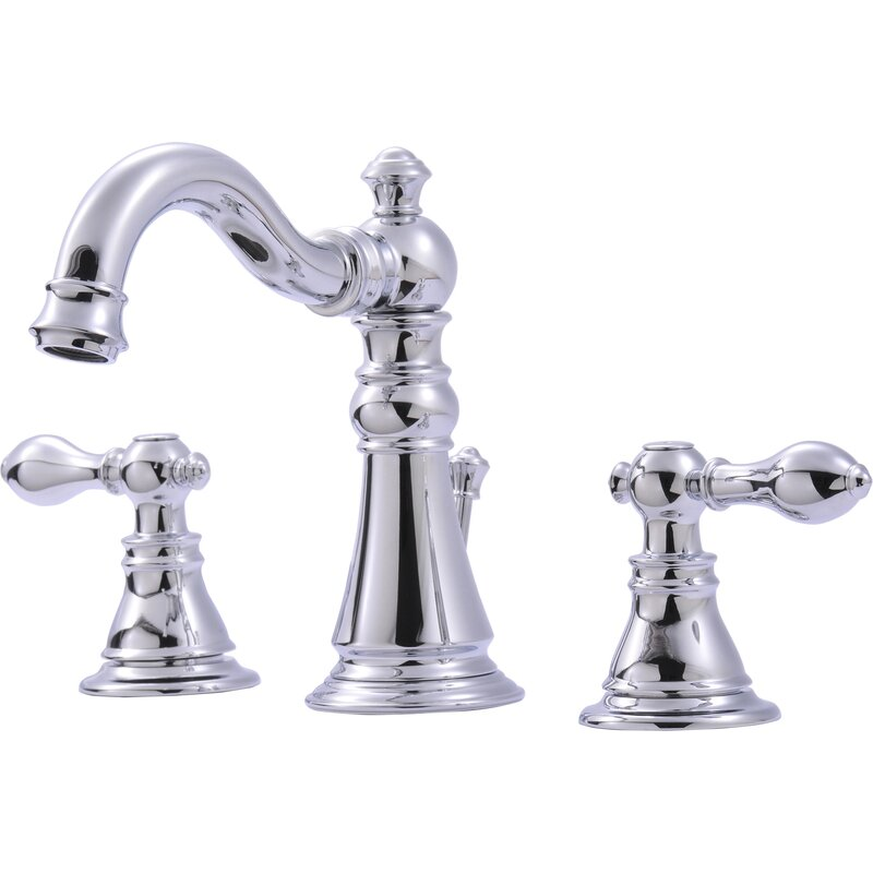Ultra Faucets Widespread Bathroom Faucet With Optional Pop Up Drain Assembly Reviews Wayfair