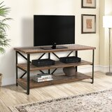 Nicolle Solid Wood TV Stand for TVs up to 48 by Millwood Pines