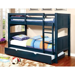 Kolb Twin Over Twin Bunk Configuration Bed With Trundle by Zoomie Kids Looking for