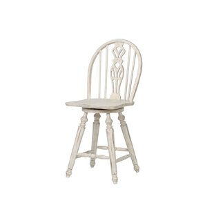 Best Price Thibaut 24 Swivel Bar Stool by One Allium Way Reviews (2019) & Buyer's Guide