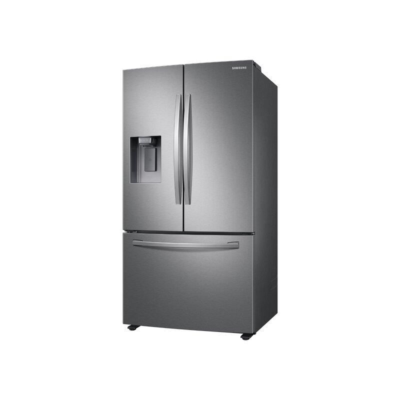 Samsung 36 French Door Refrigerator 27 Cu Ft Energy Star Refrigerator Reviews Wayfair