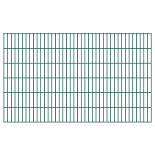 Adonay 2D 7' X 4' (2.01m X 1.23m) Picket Fence Panel By Sol 72 Outdoor