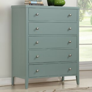 Howlett 5 Drawer Dresser by Highland Dunes