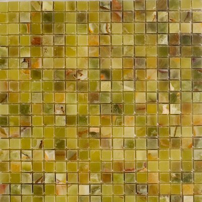 063 x 063 Onyx Mosaic Tile Epoch Color Green