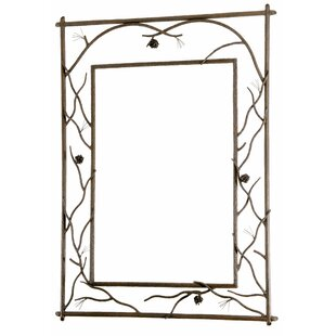Loon Peak Roslindale Branched Large Wall Mirror