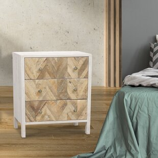 Quimby 3 Drawer Nightstand by Foundry Select