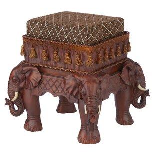 The Maharajah's Elephants Ottoman