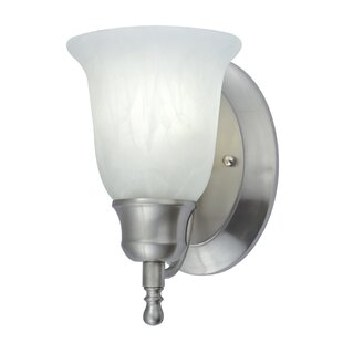 1-Light Bath Sconce by NICOR Lighting