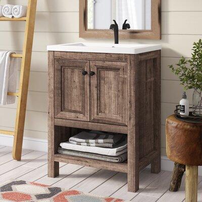 24 Inch Rustic Bathroom Vanities You Ll Love Wayfair