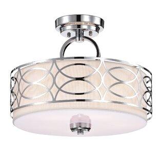 Etheredge 5-Light Semi Flush Mount by Ebern Designs
