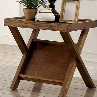 Amandari Farmhouse End Table by Gracie Oaks Read Reviews