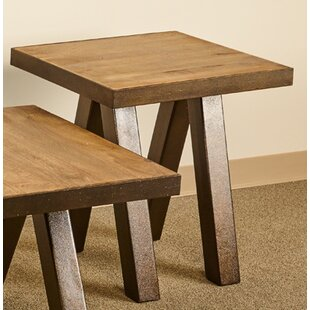 Waldrop End Table by Millwood Pines Amazing