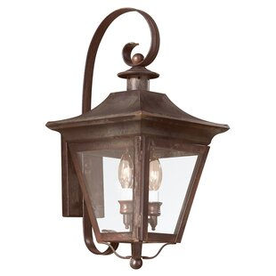 Darby Home Co Theodore 2-Light Outdoor Wall Lantern