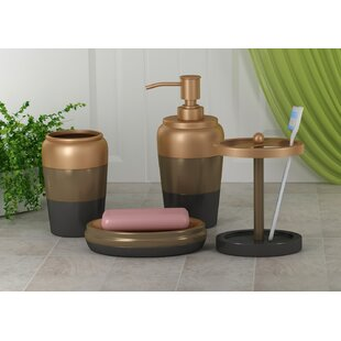 Compare prices Westberry 4 Piece Bathroom Accessory Set By Winston Porter