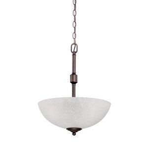 Franklin 3-Light Bowl Pendant
