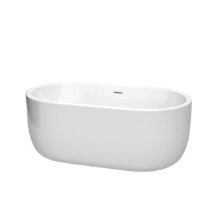 Juliette 60 inch  x 31.25 inch  Freestanding Soaking Bathtub