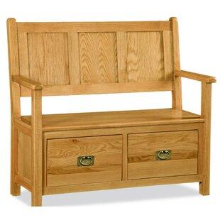Wood Storage Hallway Bench by Hazelwood Home