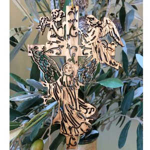Angel Cross Ornament