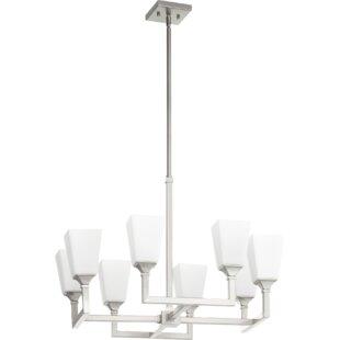 Ebern Designs Moretti 8-Light Shaded Chandelier