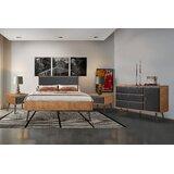 Armendariz Platform Solid Wood 4 Piece Bedroom Set by Corrigan Studio
