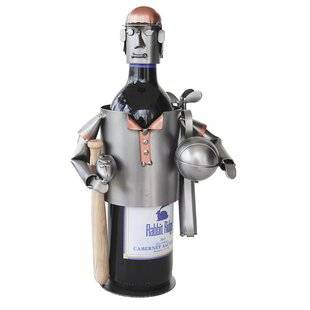 Sports Fanatic 1 Bottle Tabletop Wine Rac..