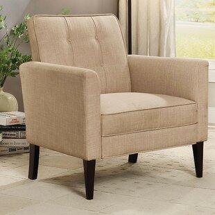 Manhattan Wingback Chair by Ebern Designs
