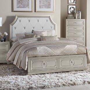 Eldridge Queen Upholstered Storage Platform Bed